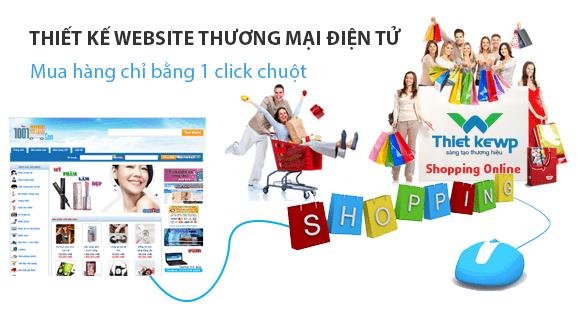 thiet ke web thương mại điện tử