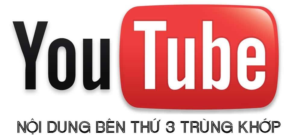 Hướng dẫn cách khắc phục lỗi nội dung bên thứ ba trùng khớp trong Youtube