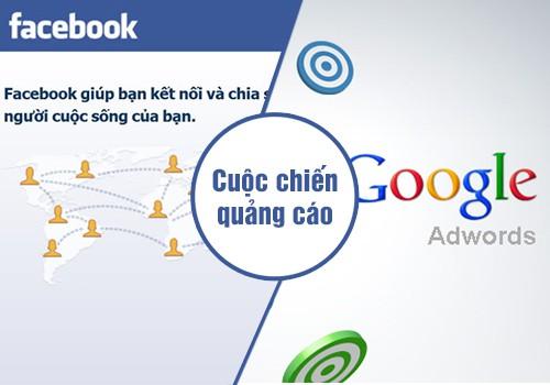 Quảng cáo google adwords và facebook ad