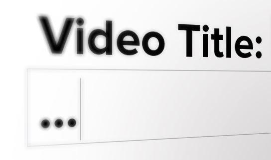 Hướng dẫn cách viết tiêu đề Video tối ưu, chuẩn SEO