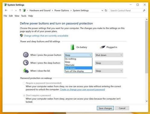 Hướng dẫn tắt nhanh máy tính chạy Windows 10