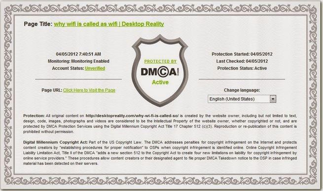 Khái niệm DMCA là gì? DMCA bảo vệ bạn như thế nào?