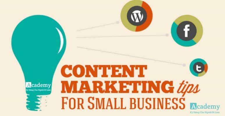 11 Sáng Kiến Thực Hiện Ngay Về Content Marketing