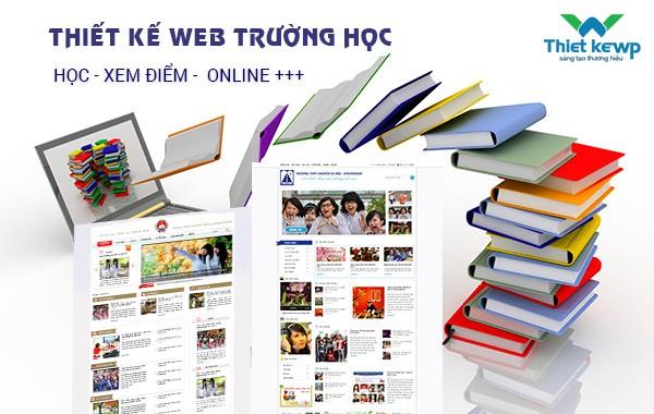 Thiết kế website trường học ươm mầm tri thức Việt
