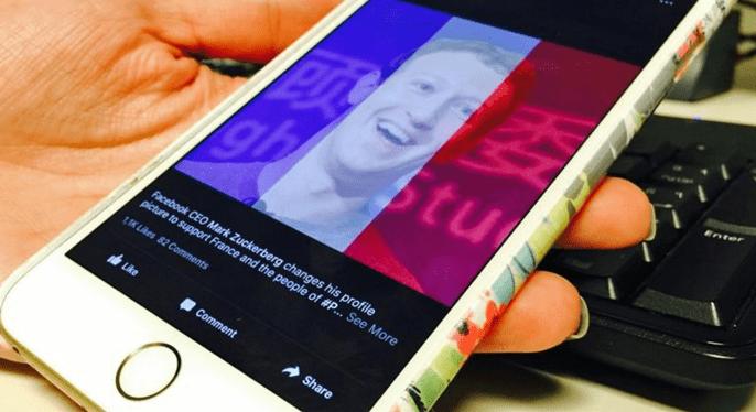 Facebook giải thích về việc 'ưu tiên' Paris sau vụ khủng bố