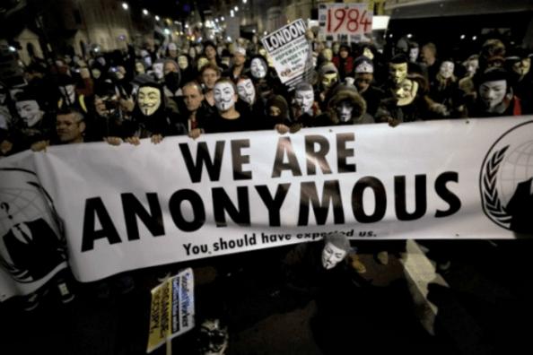 Tuyến bố gây chiến với IS của Nhóm Hacker Anonymous