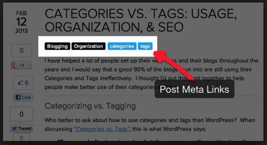 Cách sử dụng Category vs Tags