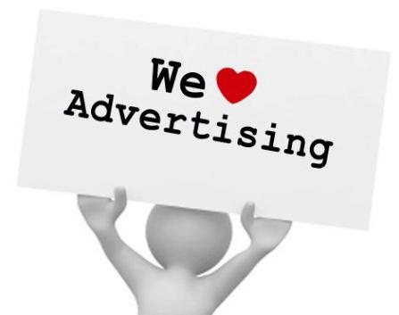 Quảng cáo cho mục tiêu tiếp thị
