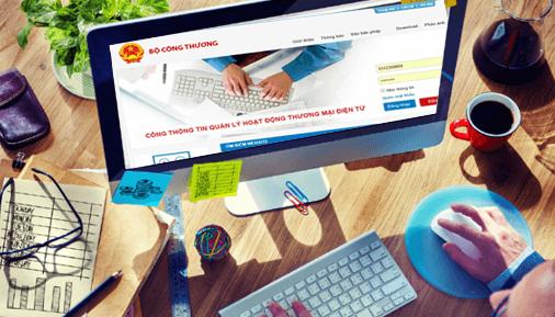 Hướng dẫn cách đăng kí website với Bộ công thương