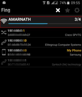 Kiểm tra các thiết bị đang kết nối wifi bằng smartphone