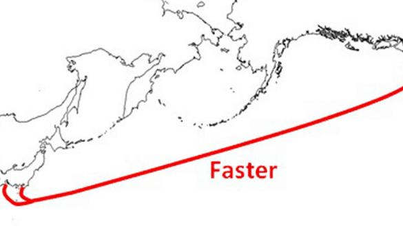 Tuyến cáp Faster đã được Google hoàn thành