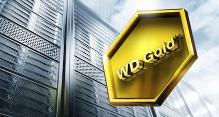 WD Gold được nâng cấp 25% dung lượng