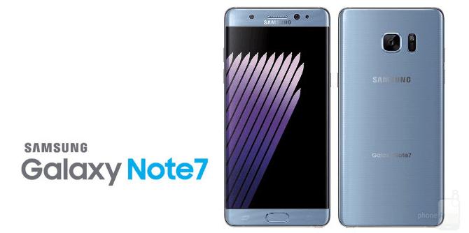 Galaxy Note 7 bị thu hồi