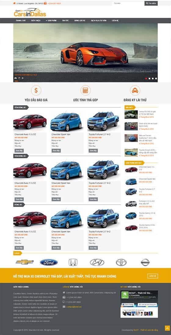 Mẫu giao diện website bán hàng, shop online 04