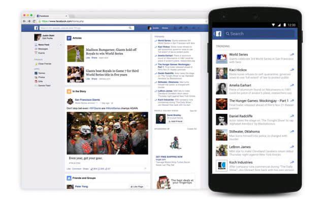 tính năng mới của facebook vừa được cập nhật