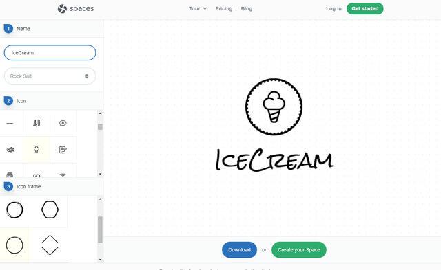 tool marketing thiết kế logo miễn phí
