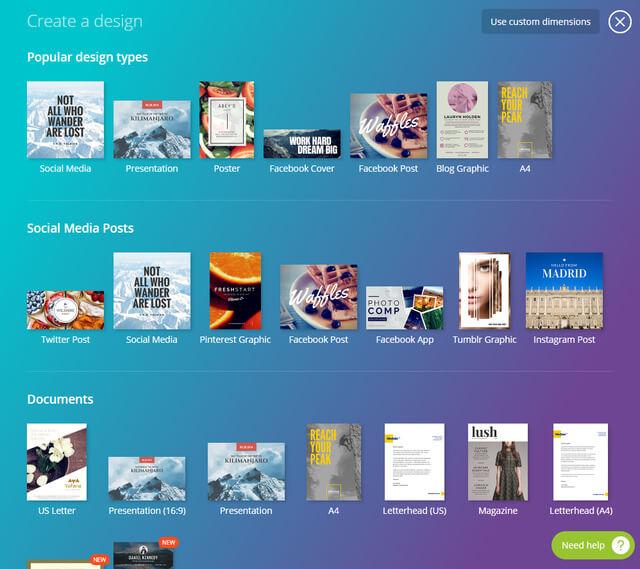 tool marketing thiet kế hình ảnh canva