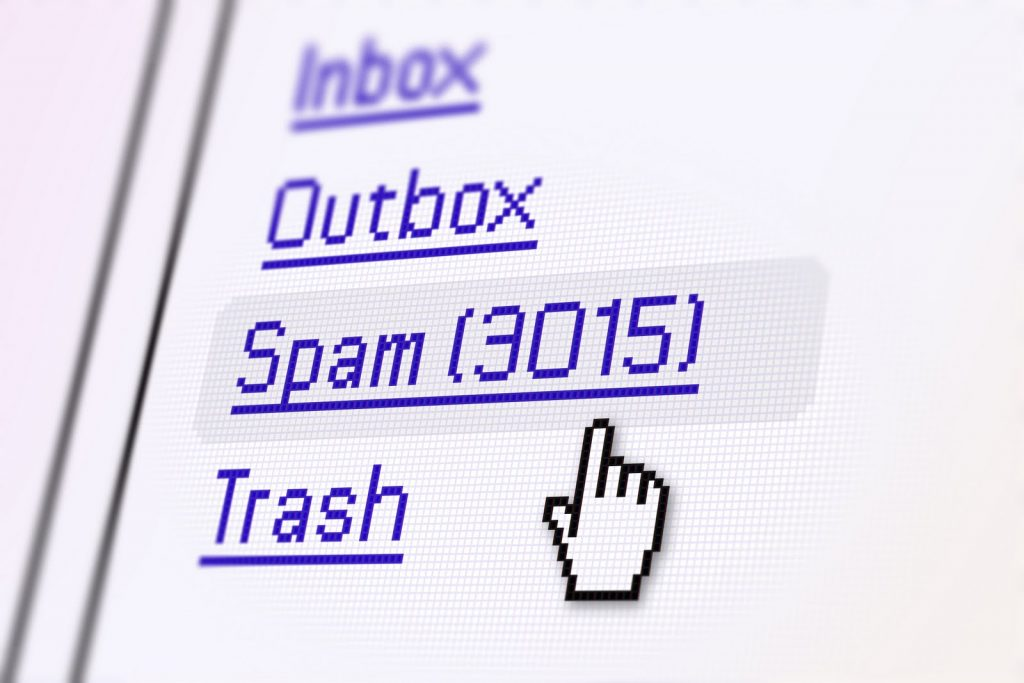 phương pháp chống spam email
