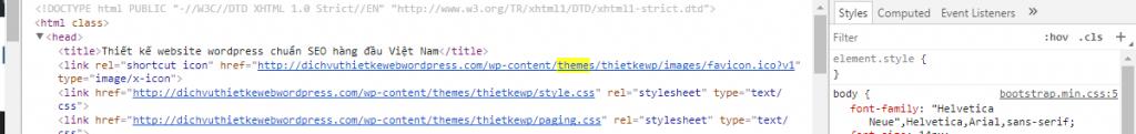 Làm thế nào để tìm Theme và Plugin của một trang web WordPress? 3