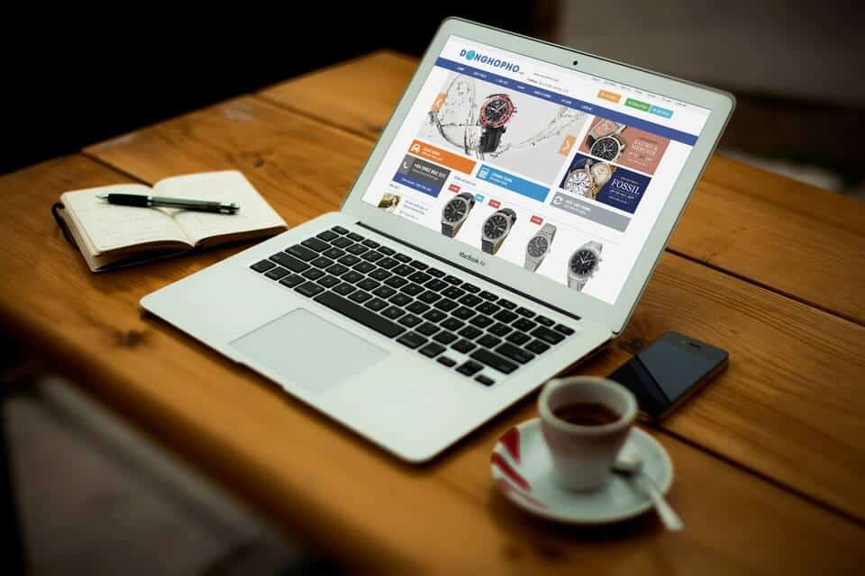 Website bán hàng – Đồng hồ