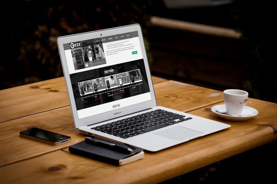 Website bán hàng, giới thiệu DN