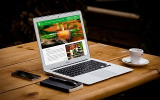 Web giới thiệu dịch vụ Spa