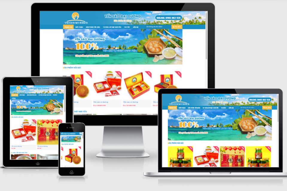 Website nội thất bán hàng