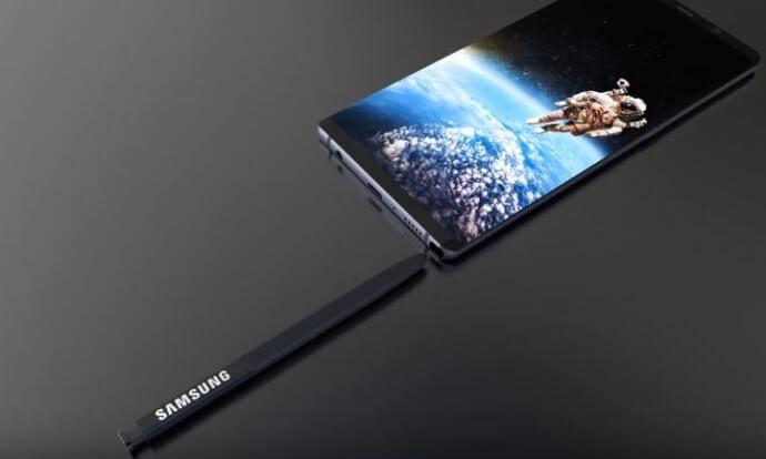 Galaxy Note 9 với chiếc bút S Pen thần kỳ có thể đo được nồng độ cồn của bạn.