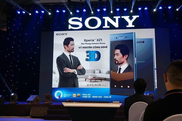 Sony Show 2017: Xperia XZ1 mỏng nhẹ, mạnh mẽ 1
