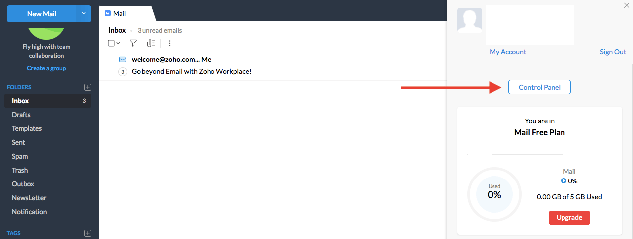 email zoho