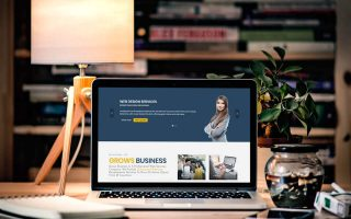Thiết kế web doanh nghiệp, dịch vụ 2018