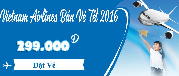 Banner Tết 2016 với màu xanh khác lạ cùng nội dung thu hút khách hàng