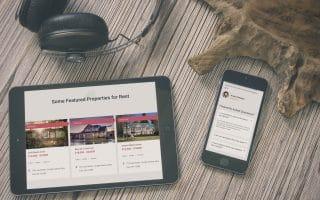 Mẫu web bất động sản hiện đại 2019