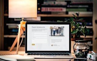 Thiết kế web giáo dục 2019 hiện đại