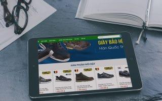 Thiết kế web bán hàng bảo hộ lao động propro