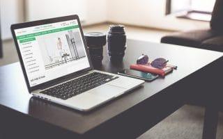 Thiết kế web bán hàng công nghệ vdan