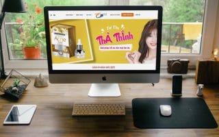 Thiết kế web giới thiệu doanh nghiệp, bán hàng acness