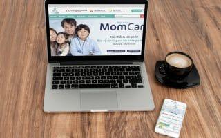 Thiết kế web giới thiệu doanh nghiệp, bán hàng Momcare