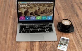 Thiết kế web giới thiệu doanh nghiệp bao bì visunpack