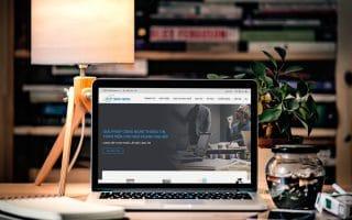 Thiết kế web giới thiệu doanh nghiệp ictcompany