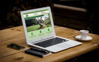 Thiết kế web giới thiệu doanh nghiệp nhabexanh