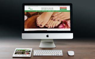 Thiết kế web spa-nails