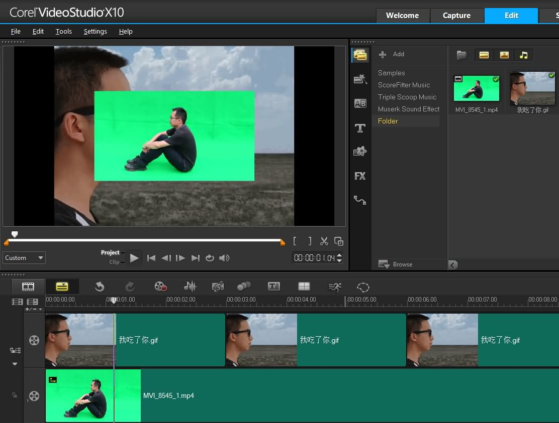 Corel Videostudio Green Screen