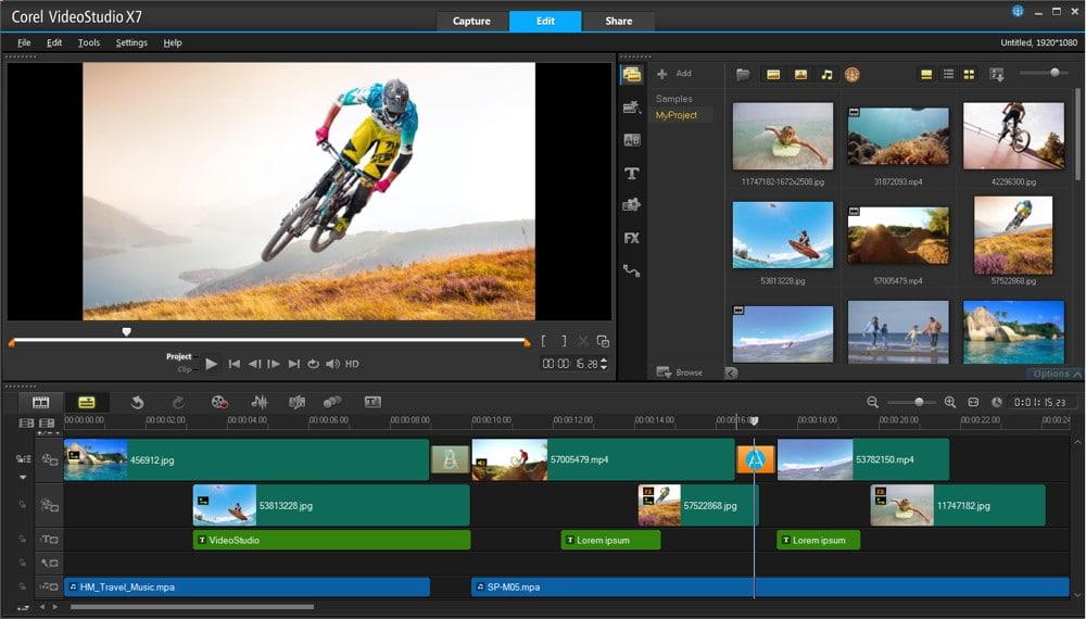 Linh hoạt với phần mềm làm video chuyên nghiệp Corel VideoStudio