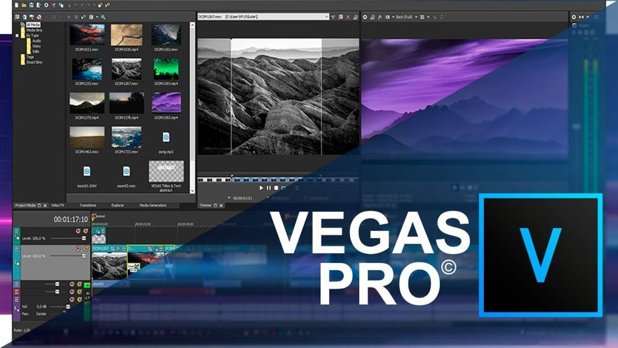 Các bước làm video cơ bản trên Sony Vegas Pro