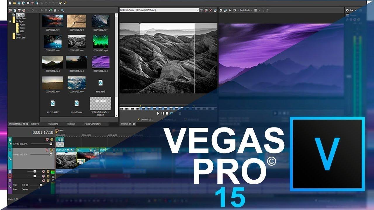 Phần mềm làm video chuyên nghiệp trên máy tính Sony Vegas Pro