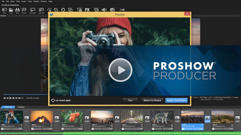 Phần mềm làm video từ ảnh và nhạc chuyên nghiệp Proshow Producer