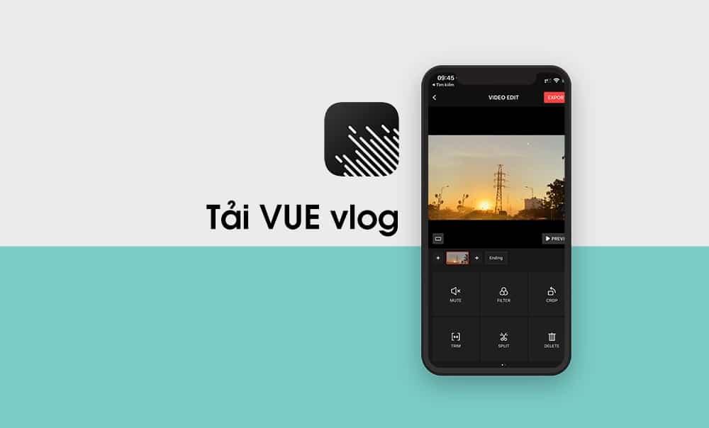 Phần mềm làm video chuyên sâu trên điện thoại VUE