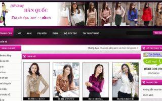 Thiet Ke Web Thoi Trang
