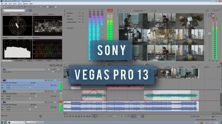 Giới thiệu sony vegas pro 13